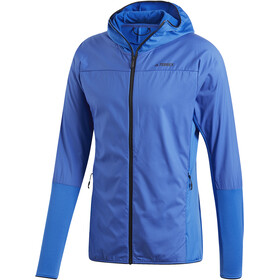 adidas TERREX Skyclimb Fleece Jacket Men shoblu/blue beauty
